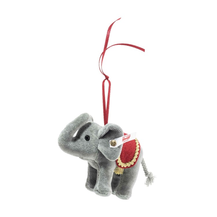 Christmas Elephant Ornament (10cm)